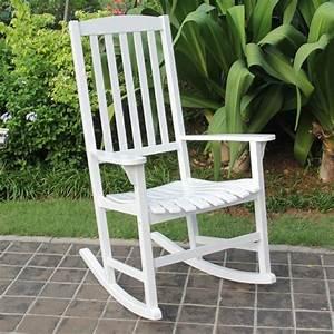 Cambridge, Casual, Wood, Slat, Back, Outdoor, Rocking, Chair, -, Walmart, Com