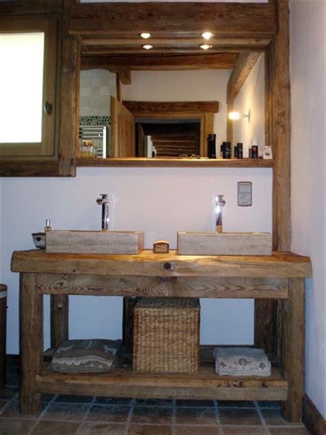 salle de bain rustique meuble vasque salle de bain rustique recherche salle de bain saints