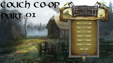 Couch Coop Legends Of Eisenwald Part 01 Youtube