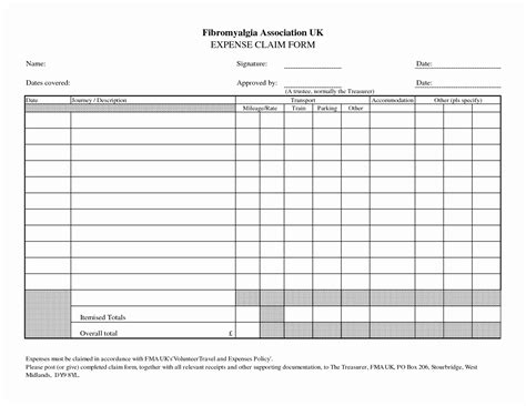 awesome business expense log template documents ideas