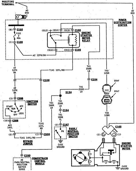 electrical wiring jeep cj wiring harness yj ignition