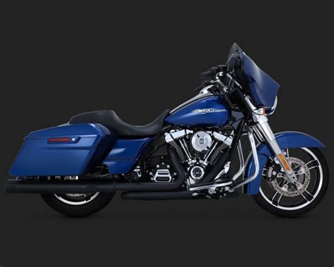 Vance And Hines Dresser Duals Heat Shields by Dresser Duals Black Vance Hines