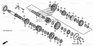 Honda Motorcycle 2006 Oem Parts Diagram For Transmission