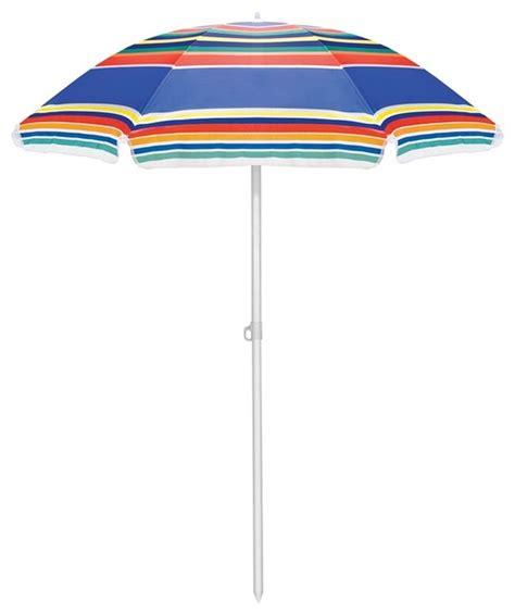 contemporary multi colored striped 6 patio umbrella