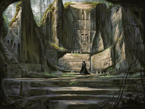 Word Wall Concept Art Elder Scrolls V Skyrim Photo