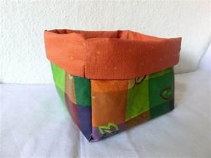 Aufbewahrungsbox Selber Machen : utensilo aufbewahrungsbox aus stoff n hen schnittmuster anleitung bilder ~ Markanthonyermac.com Haus und Dekorationen