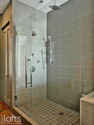 rectangle tile shower stall designs shower heads