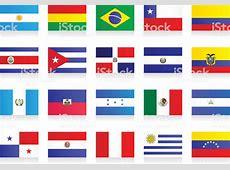 Flaggenlateinamerika Vektor Illustration 467563658 iStock
