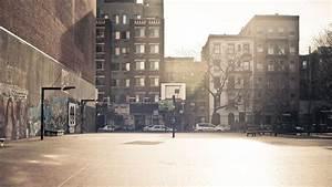 Urban City Street - wallpaper.