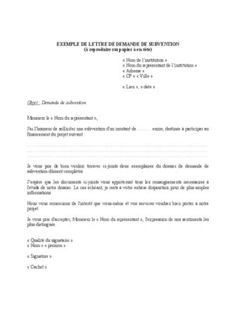 modèle lettre de partenariat commercial exemple de lettre pour une demande de partenariat
