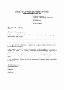 Lettre Demande De Sponsoring : exemple de lettre pour une demande de partenariat ~ Medecine-chirurgie-esthetiques.com Avis de Voitures