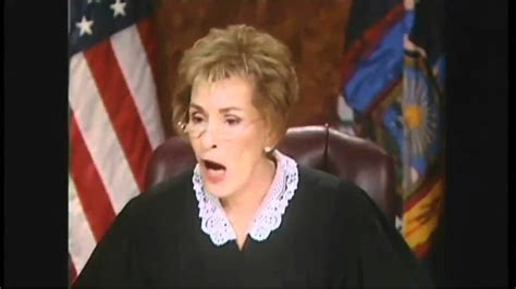 judge judy shows  fangs embrasses  heck