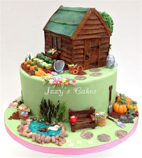 Garden Decoration For Cake by Flower Garden Cake Ideas Marcia1 Jpg Creative Cakes