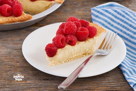 Raspberry Cream Cheese Mousse Pie Imperial Sugar