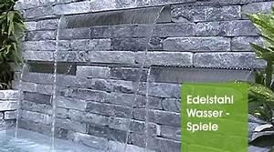 Wasserspiele Im Garten : edelstahl wasserspiele wasserspiele oase wassergarten ~ Michelbontemps.com Haus und Dekorationen