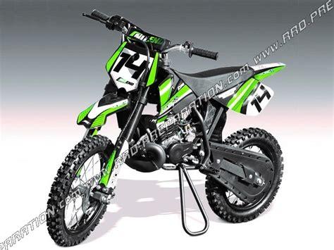 Pocket Bike, Mini Moto Cross Atomic Tnt 50cc 14-12 Black