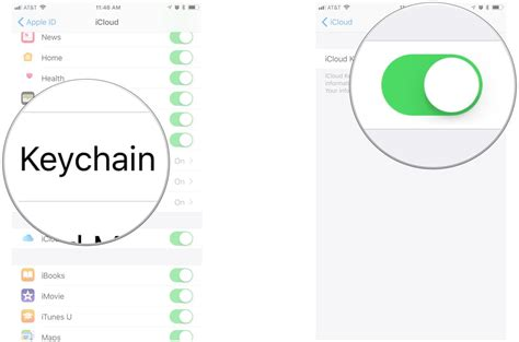 how to use keychain how to use icloud keychain on iphone and imore