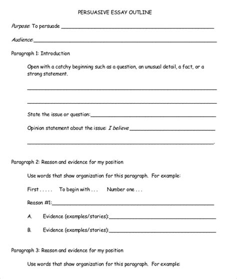 persuasive speech blank outline essays asian american writers workshop fill in the blank