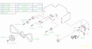 Subaru Forester 2 5l At S Adjuster Assembly-belt Tensioner  Timing  Camshaft