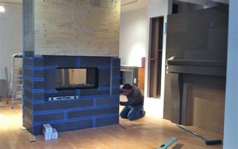 modern fireplace tiles grouting paloform