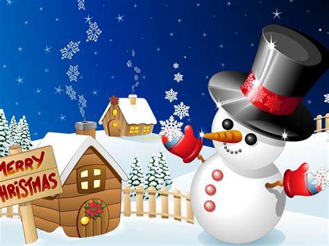 merry christmas winter snow wood houses  snowman