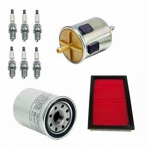 Air Oil Fuel Filters And Spark Plugs Tune Up Kit Fits
