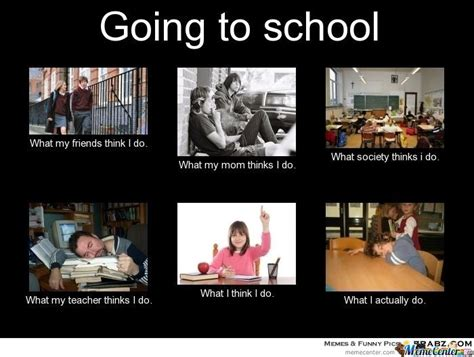 Going Back To School Memes - going to school by haroun16 meme center