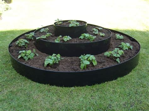 circular raised beds large tiered circular raised bed d1 15m 163 23 99
