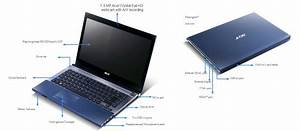 Acer Aspire Timeline X 4830t 14 Inch Laptop  Intel Core I3