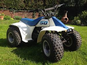 Suzuki Lt50 50cc Children U0026 39 S Quad Bike  Atv