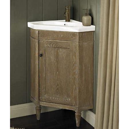 fairmont designs rustic chic  corner vanity sink set