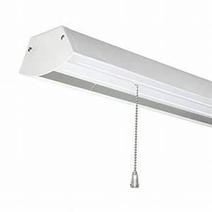 Led Work Shop Light Fixture 4 Foot 48 W  Lamps Light Fixtures Wall 120