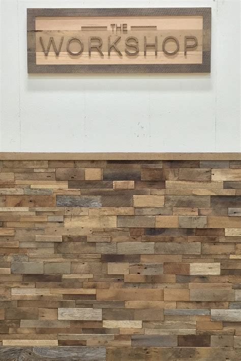 reclaimed wood paneling reclaimed barn wood stacked wall panels 1746