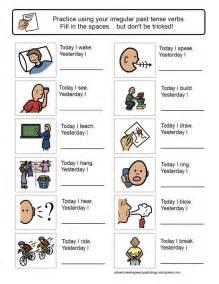 verb sheet irregular past tense verb worksheets learning worksheets and past tense