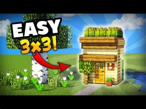 Minecraft Boat Houses Mod by Minecraft How To Make The Smallest House You Can Make In