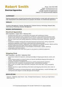 resume knowledge and skills electrical apprentice resume samples qwikresume