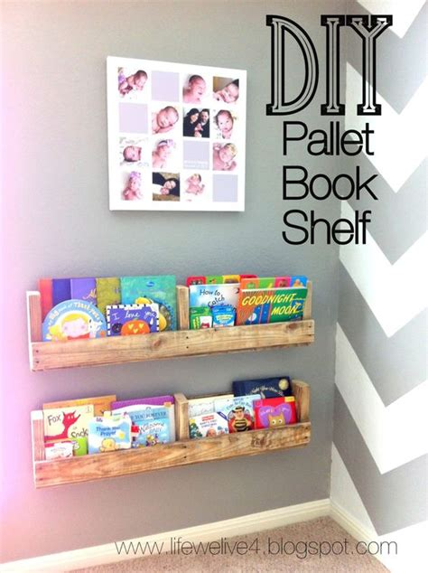 pallet projects diy easy and cheap book shelf original