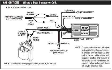 how to install an msd 6a digital ignition module your 1979 1995 throughout msd 6al wiring