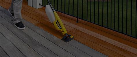 stain  paint  deck wagner spraytech