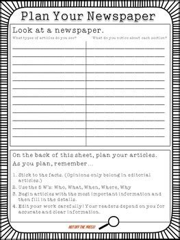 editable newspaper template the scoop editable student newspaper template by erin wing tpt