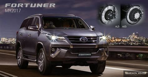 toyota fortuner launched  thailand  updated