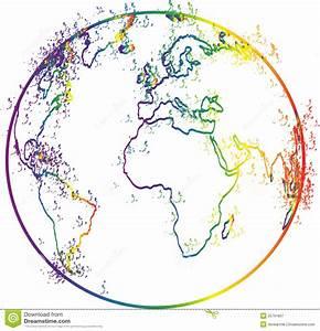 World Globe Outline | www.imgkid.com - The Image Kid Has It!