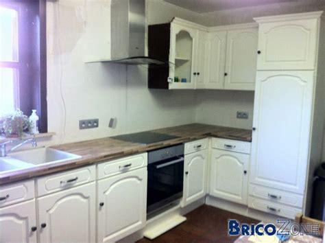 renover sa cuisine avant apres peindre une cuisine en chene