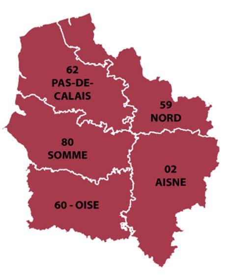 nord pas de calais picardie region of all the