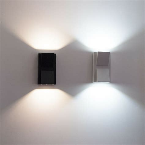 Applique Da Esterno A Led by Applique Led Per Esterni Faretto Doppia Luce 10w Lada