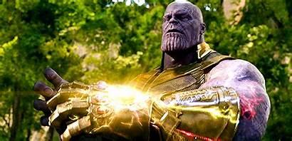 Thanos Stone Gifs Infinity Stones Gauntlet Avengers