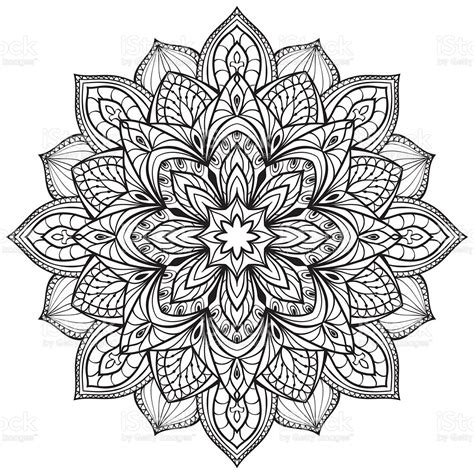 Compatible with silhouette cameo, cricut and other major vinyl cutting machines! Vector Graphic Mandala Stock Vector Art & More Images of ...