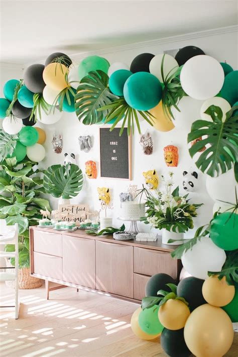 birthday party ideas 1st birthday party ideas kara 39 s party ideas jungle 1st birthday party kara 39 s