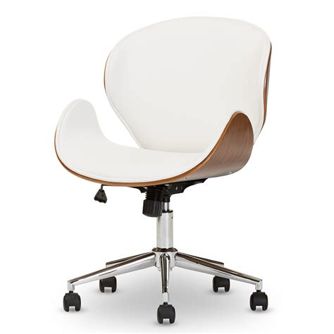modern leather desk chair whitevan