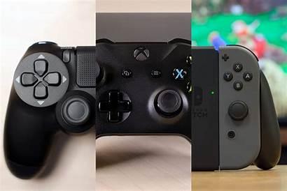 Nintendo Xbox Playstation Consoles Switch Sony Microsoft
